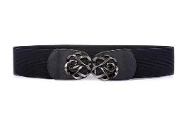 Black statement belt