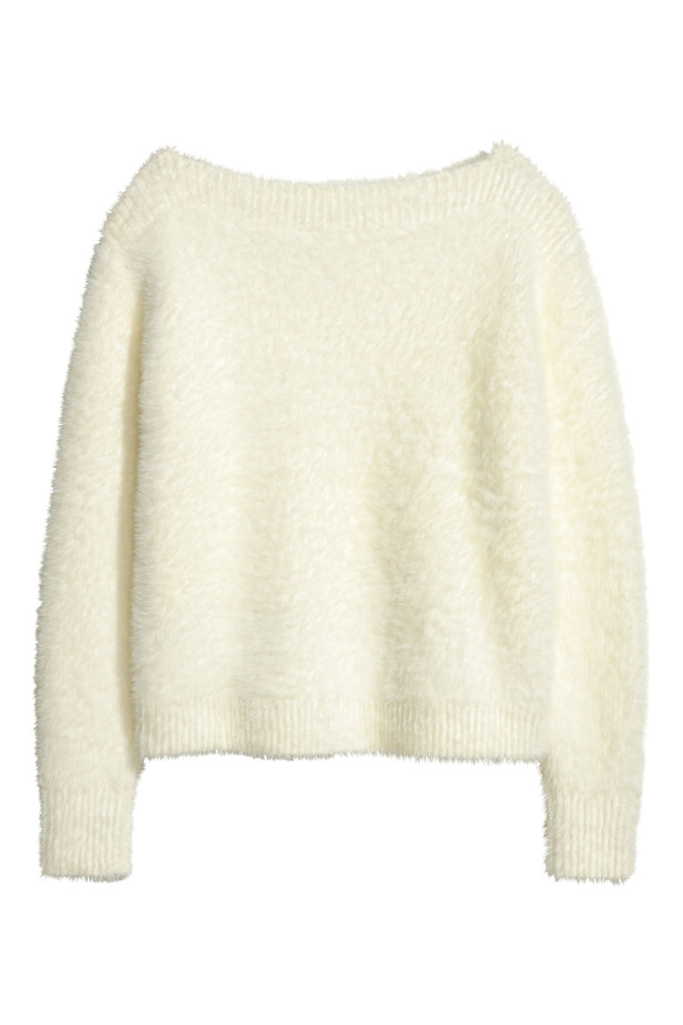 H&M Fuzzy sweater