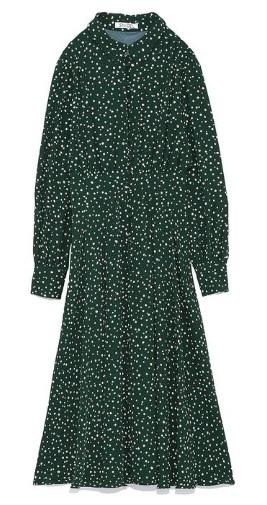 Snidel green dress