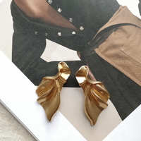 Celine Golden Leaf Earrings