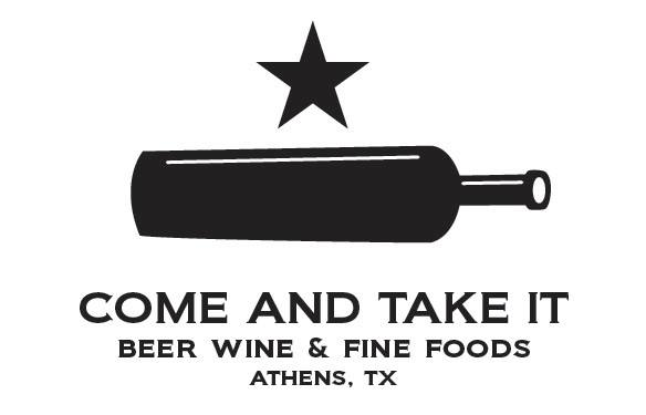 Come and Take It is a unique new beer and wine store in Athens, Texas.It is the first of it's kind in the area. You must stop here if you are nearby.