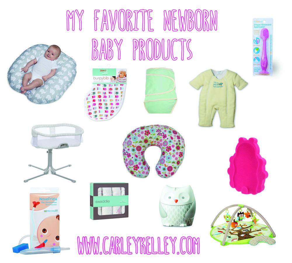 8fb24d46f My Favorite Baby Items  Newborn Addition  — Carley Kelley