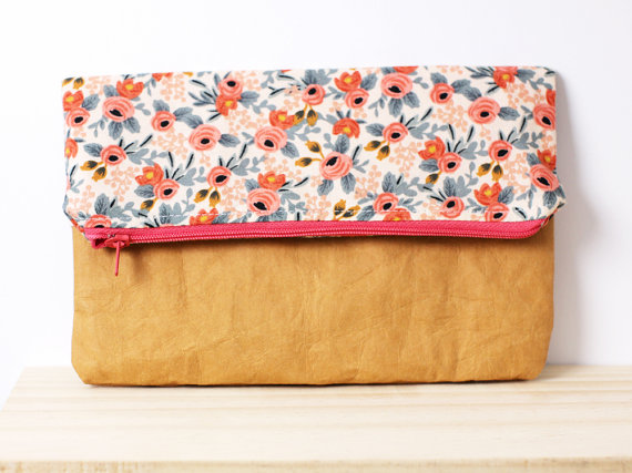 A fun little clutch made by Hello Sweet Mae