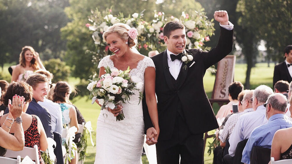 Rachel Miles Married At Golden Valley Country Club Minneapolis