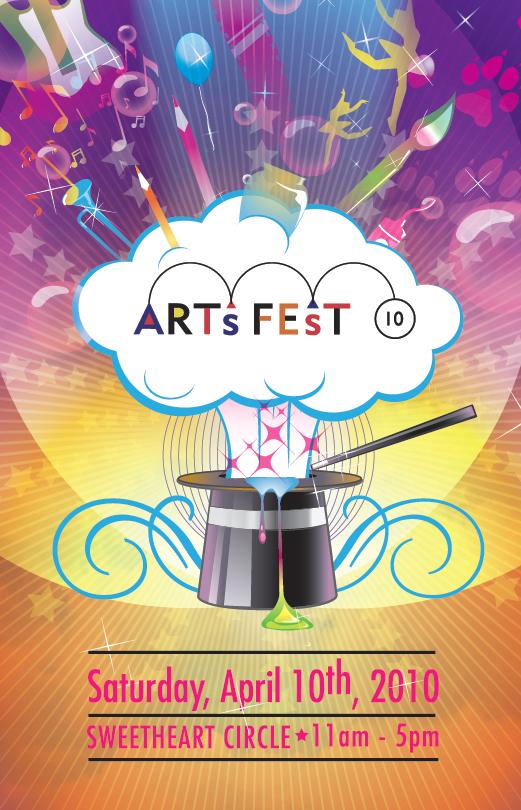 Poster Design for ArtsFest