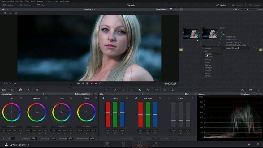 http://www.4kshooters.net/2016/05/06/getting-even-skin-tones-and-preserving-texture-in-davinci-resolve-12-5/