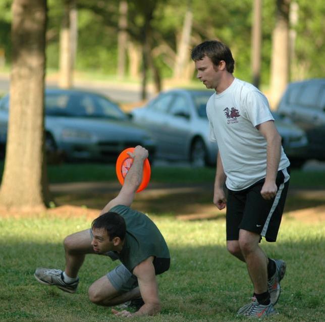 Ultimate Frisbee.