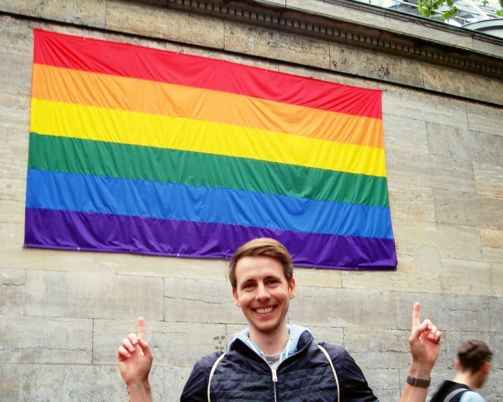 Sebastian at Berlin Pride 2014!