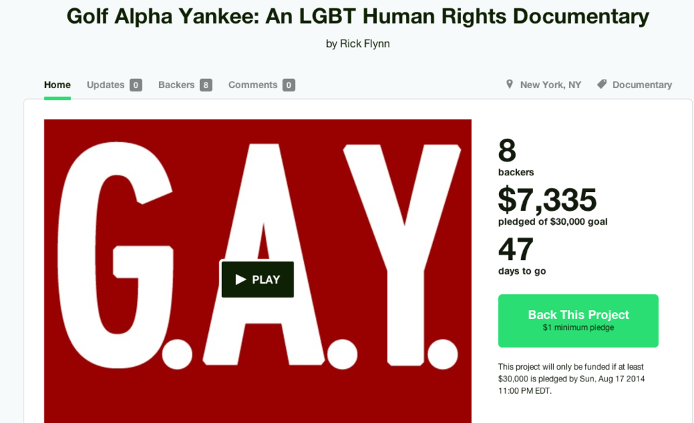 We're already at 25% of our goal and it's been only 48 hours!