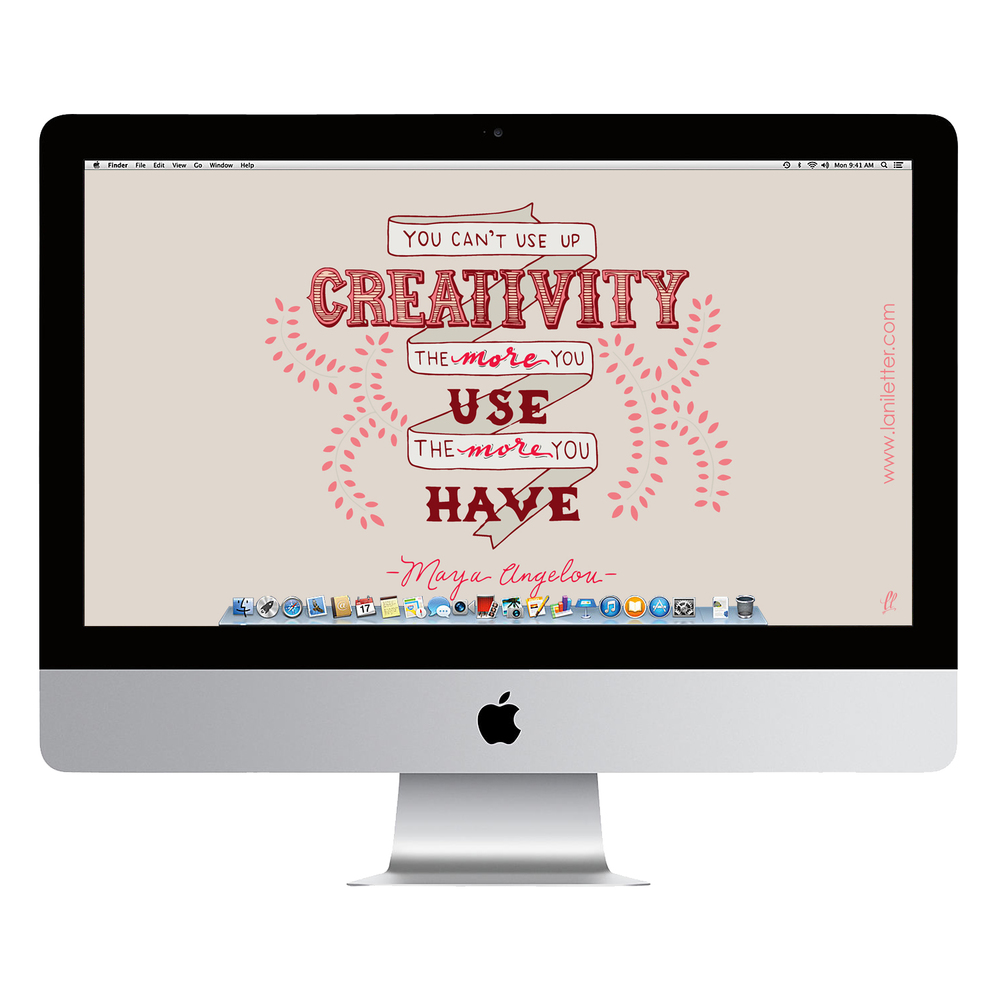 Maya-Red-Wallpaper