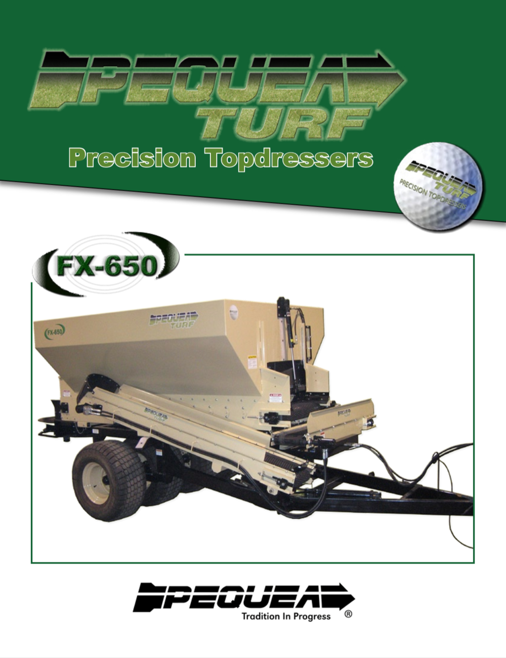FX-650 Top Spreader Brochure