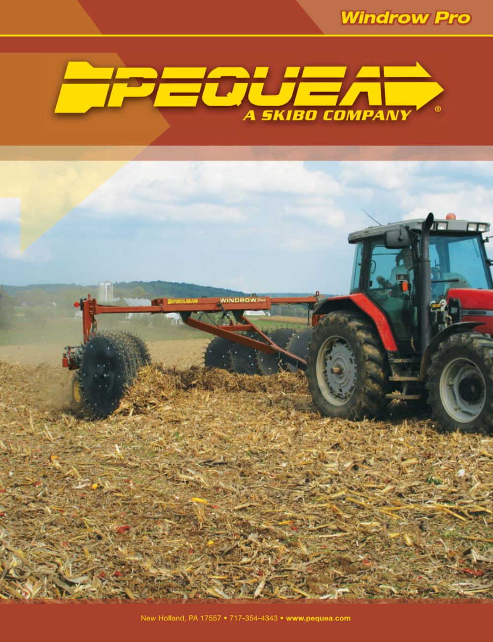 Windrow Pro brochure