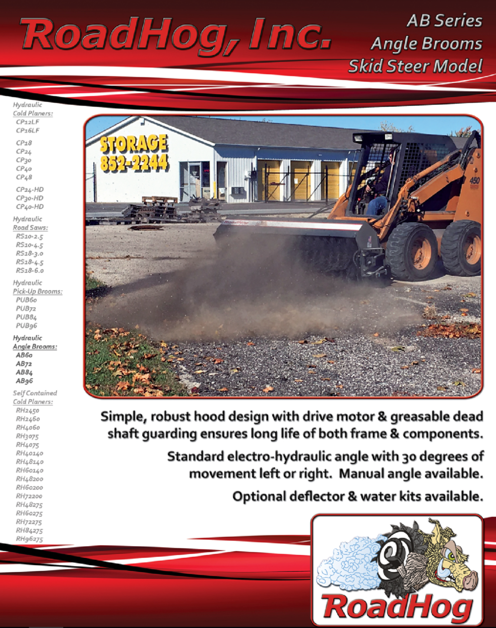 Angle Broom Brochure