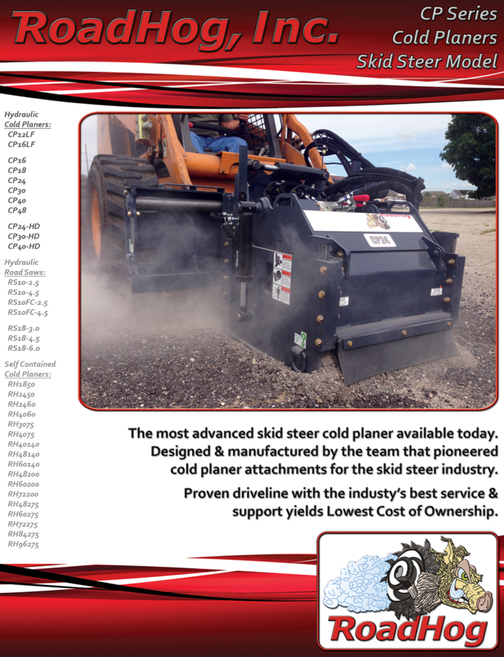 Skid Steer Cold Planer Brochure