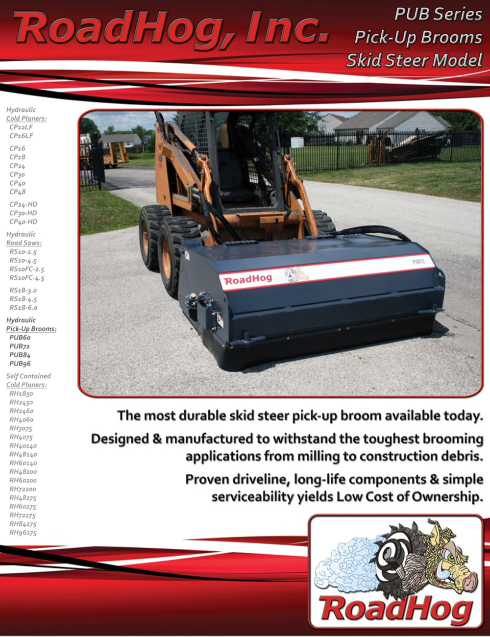Pickup Broom Brochure