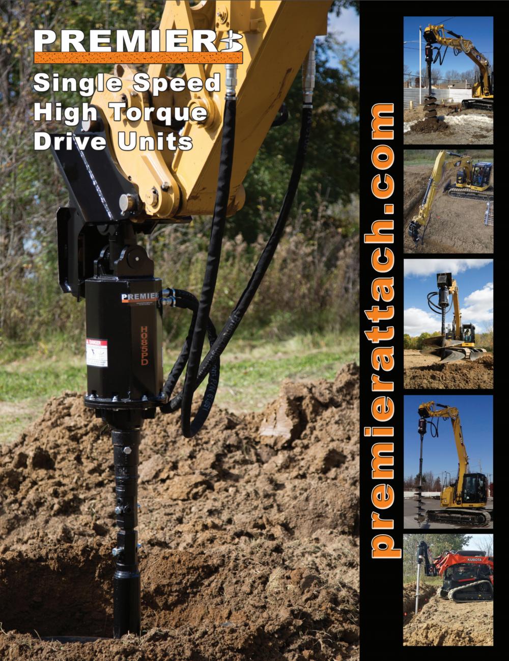 Single Speed High Torque Auger Brochure