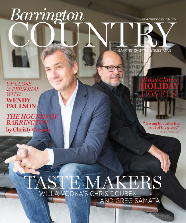 Barrington Country Magazine Cover