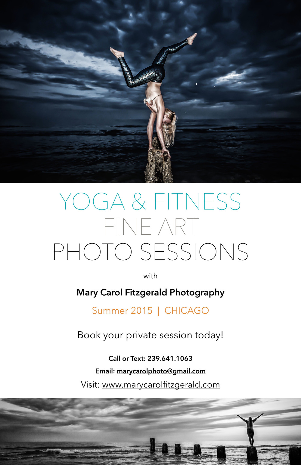 Yoga & Fitness Photo Shoots - Chicago IL Summer 2015
