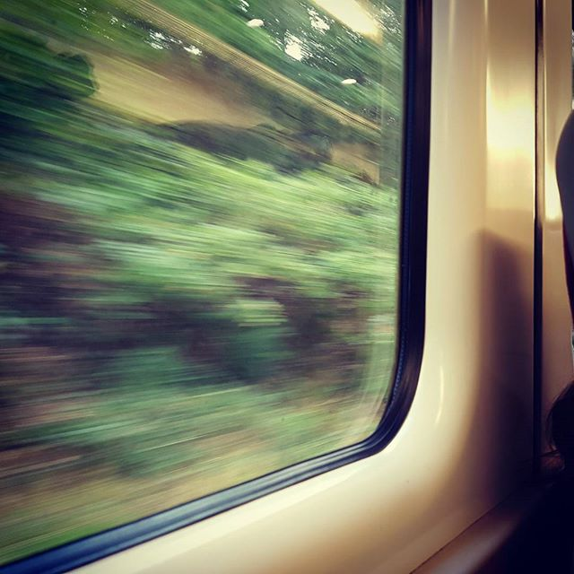 All settled on the train. Next stop Bath for my performance tonight with A Meaningful Silence!  9pm at St James Wine Vaults in Bath  #music #musician #bossrc300 #markbass #yamahabass #logicprox10 #bassguitar
