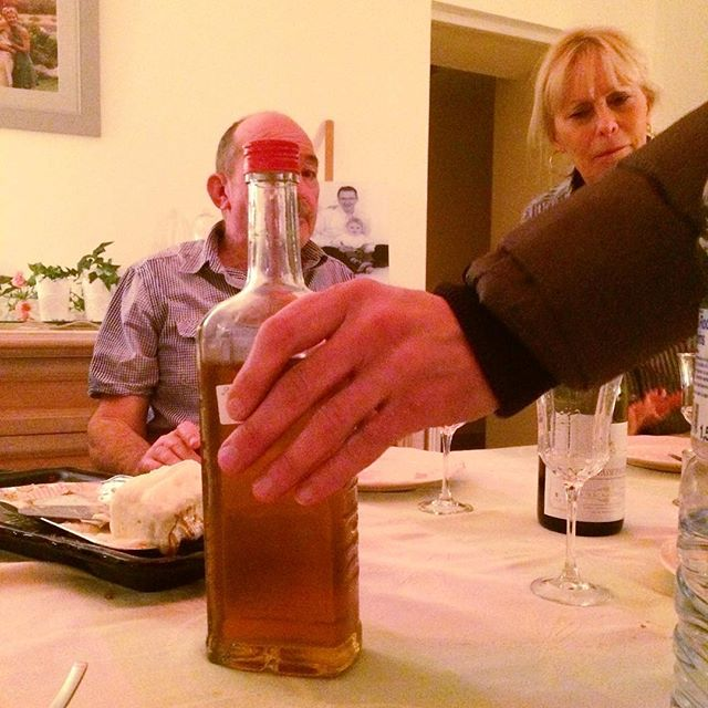 This is what you want to have happen at the end of a long meal in France. When your host brings out the hand labeled, unsealed bottle of murky brown or clear liquid, it only means one thing: hooch.