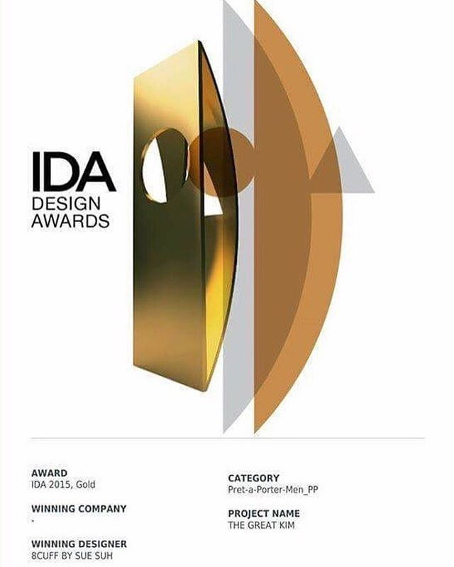 Happy to announce The Great Kim Collection has won International Design Awards 😎