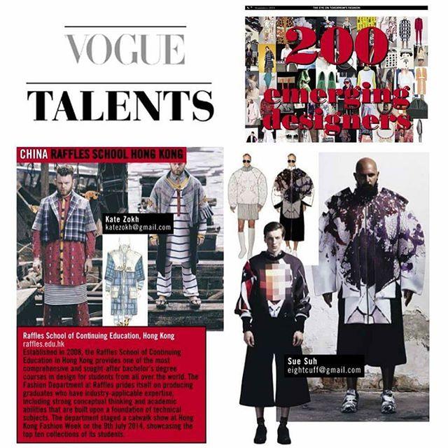 #8cuff in #voguetalents 😎