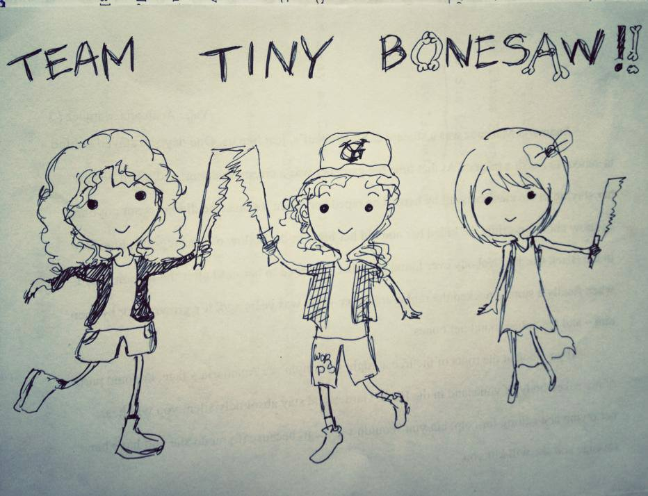 "Alyssa was one-third of the affectionately named ""Team Tiny Bonesaw"" at Clarion 2013, alongside Isabel Yap and Gabby Santiago"