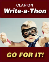 Support me in the 2014 Clarion Write-a-thon!