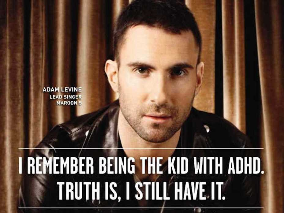 We also have to contend with Adam Levine being our celebrity spokesperson, which, as you might imagine, is particularly traumatic.