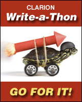 Support me in the 2015 Clarion Write-a-thon!