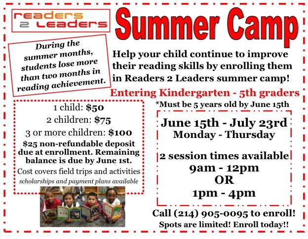 Summer Camp Readers 2 Leaders