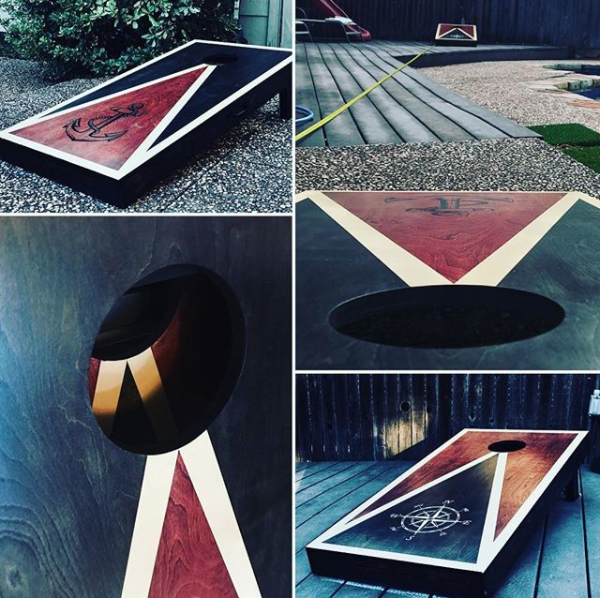 Show off your favorite sports fandom, family crest, or business logo with these cornhole boards created and donated by Richardson Boards! The winner of this prize gets to choose their own design. Perfect for backyard patios and Sunday afternoons with family and friends. (3rd place prize)