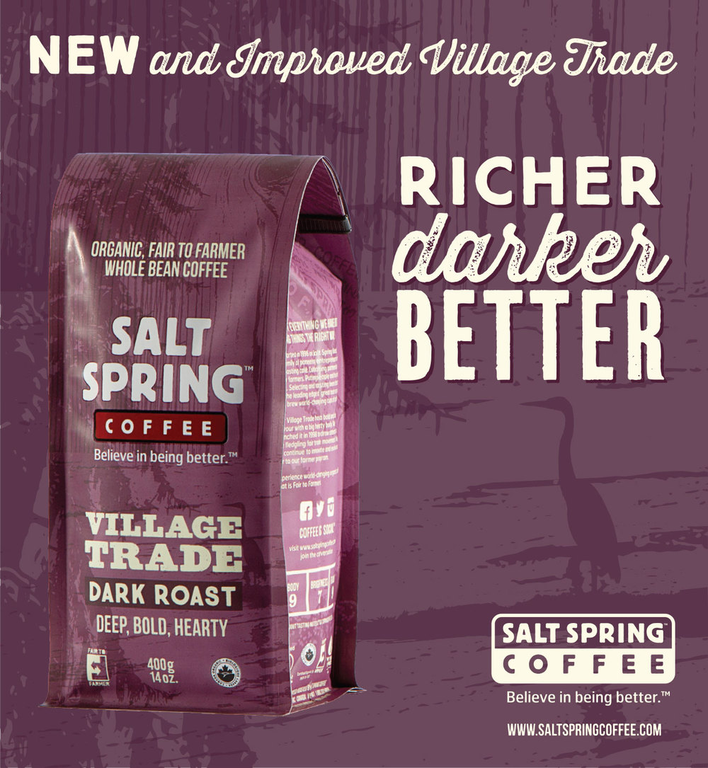 Redevelopment of Village Trade Blend Advertisement
