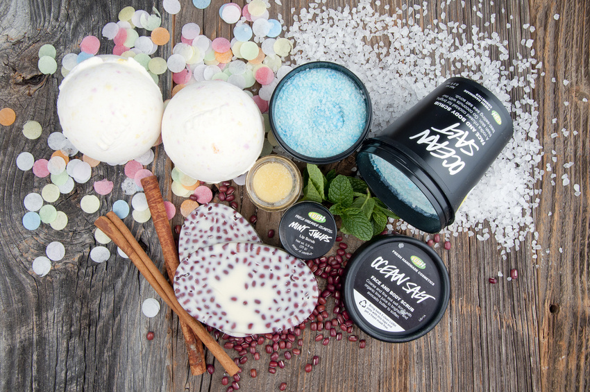 Product Photography for LUSH Cosmetics