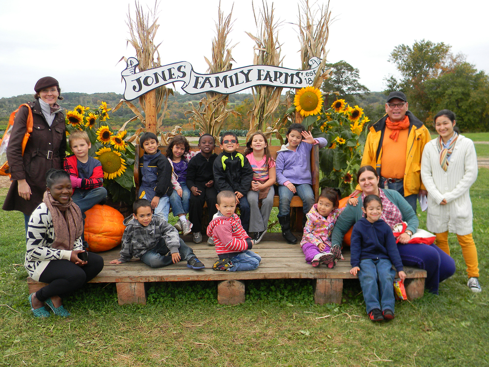 K-2nd grade field trip to Jones Family Farm.