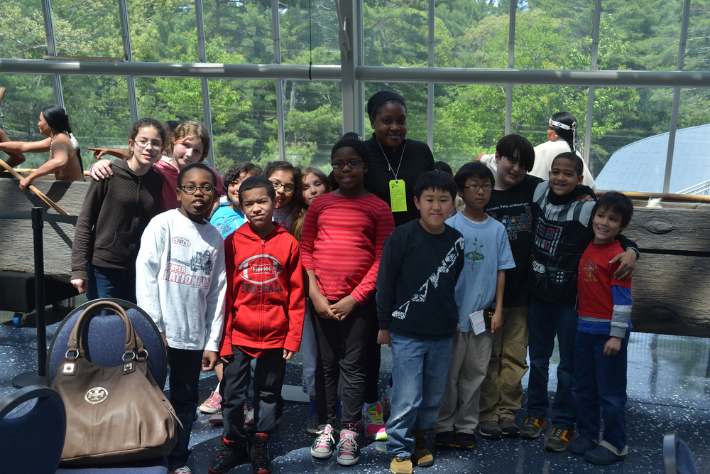3rd-8th Grade Field Trip to the Mashantucket Pequot Museum and Research Center.
