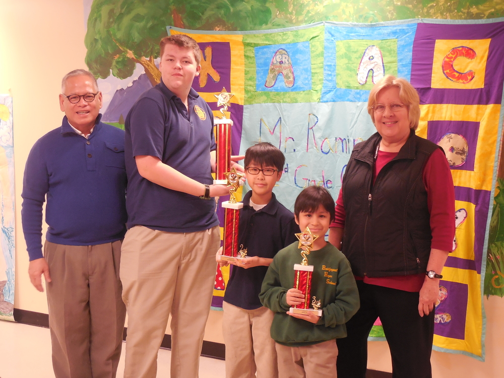 2014 Science Fair Overall Winners