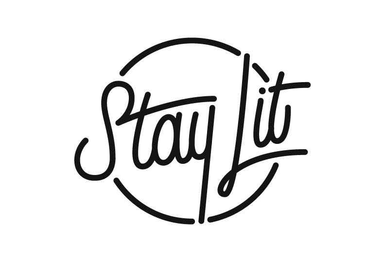 Stay Lit Candle Co. Branding
