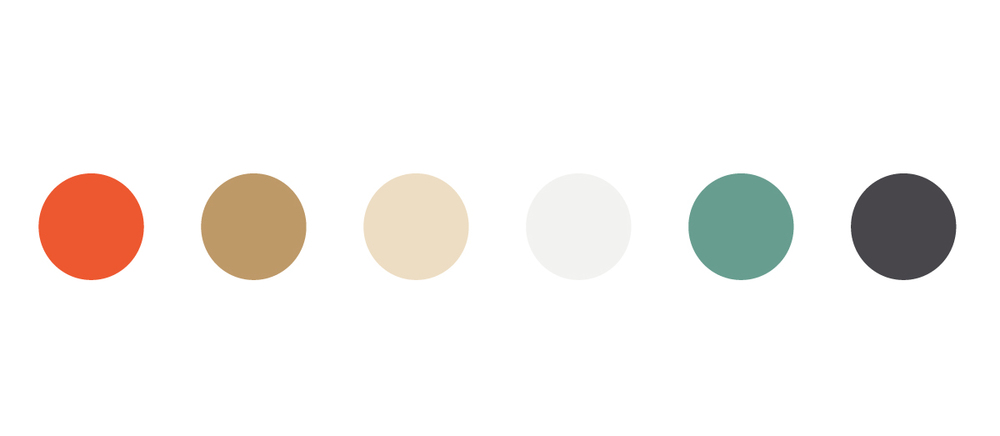 The color scheme; based on a few great neutrals and some bright pops of color