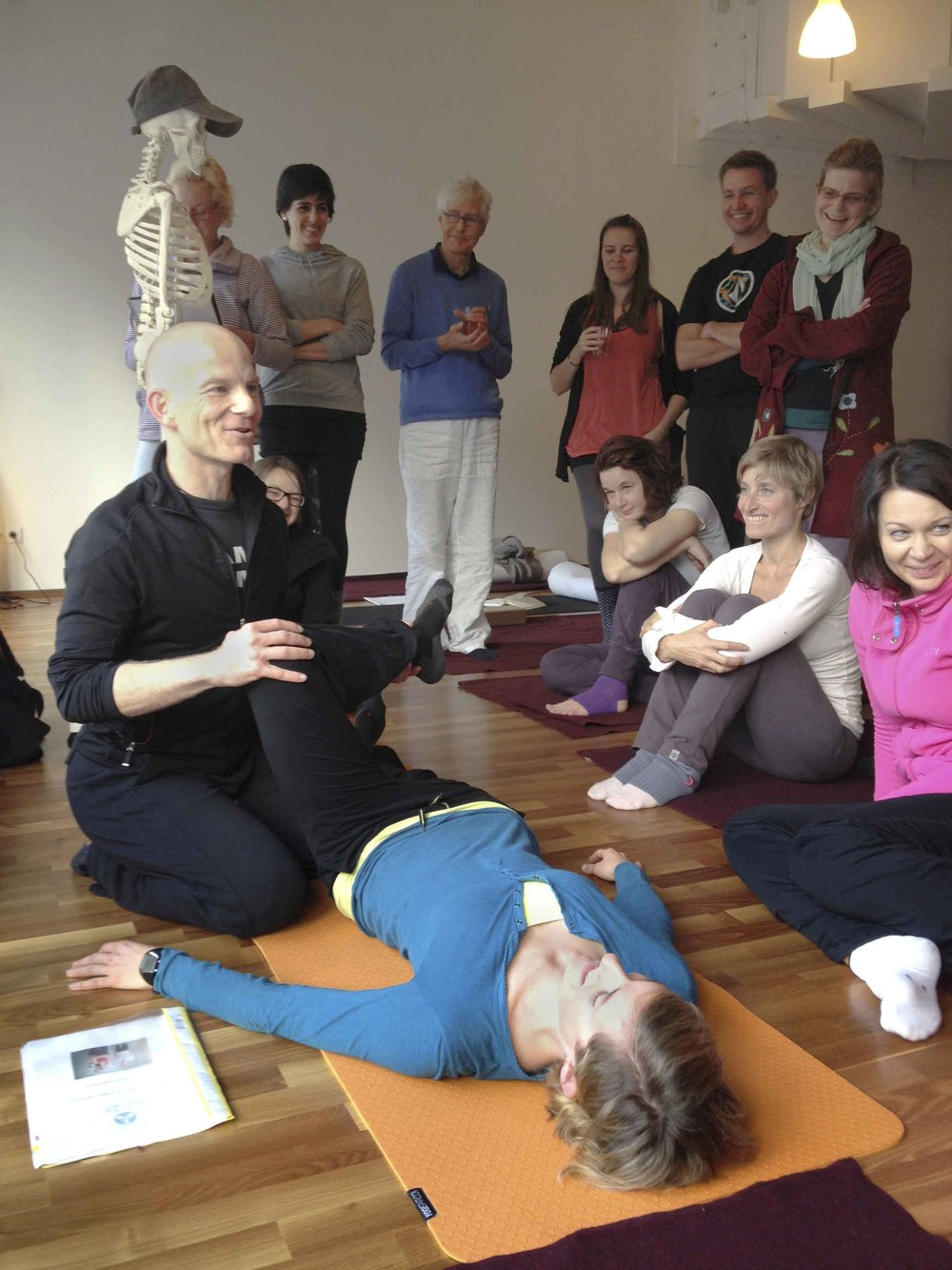 Yin Therapy - Yin Yoga & Anatomie Workshop - externe Rotation