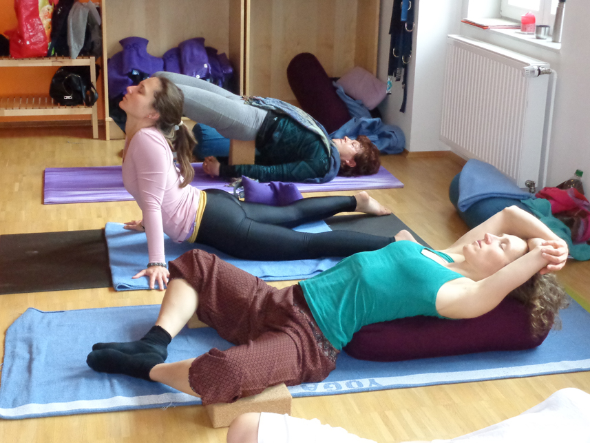 Yin Yoga & Anatomie Teacher Training I in Vinyaloft Bremen