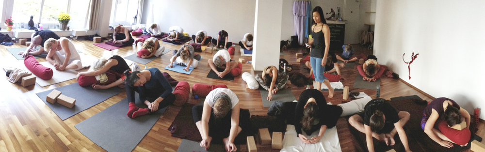 Yin Yoga Teacher Training II in Flying Yogi Hamburg
