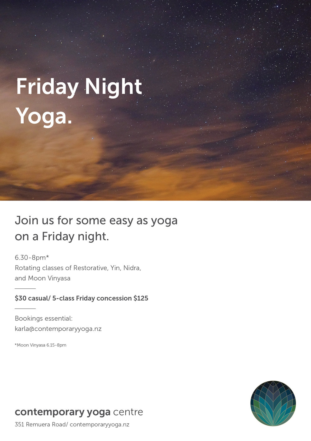 Friday Night Yoga Gatherings