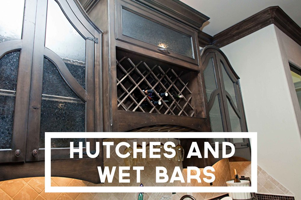 Hutches and Wet bars