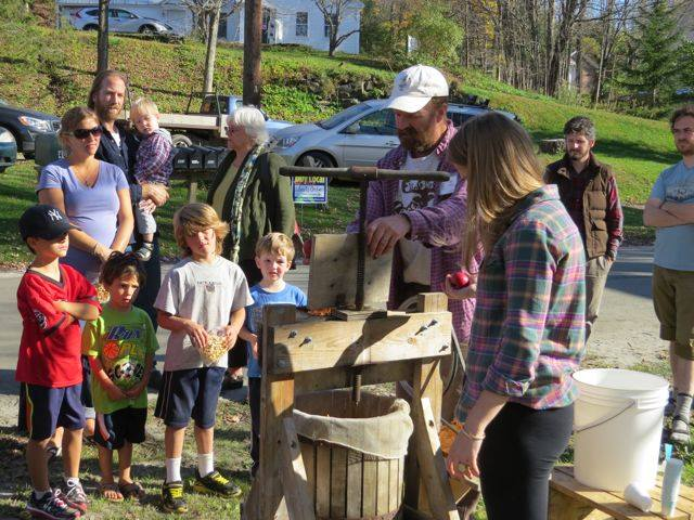 Cider Pressing Demo