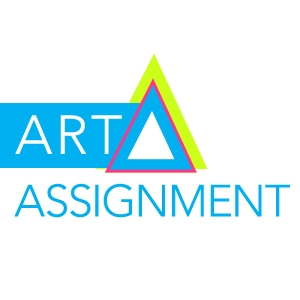 Art Assignment logo, designed by Leanne Pedante