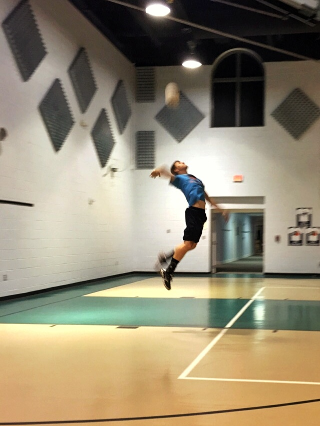 Volleyball is my way of clearing my head. Dan Corte