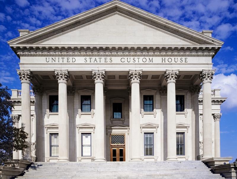 U.S. Custom House c.1877