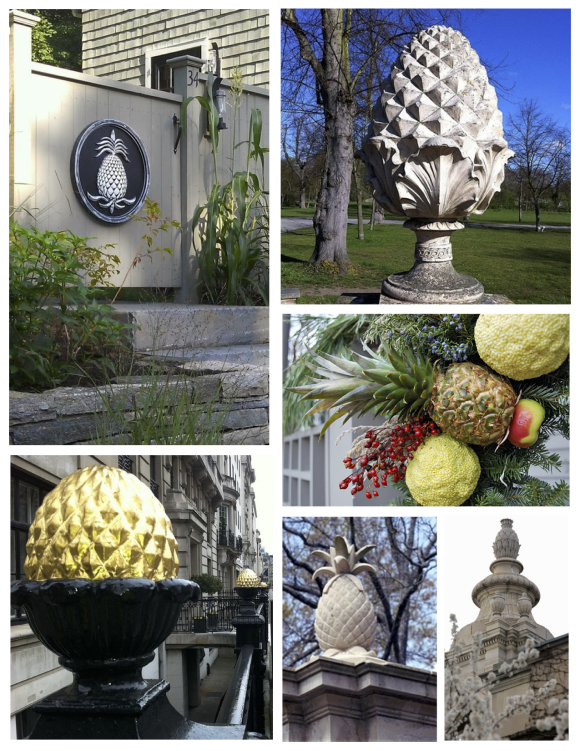 Design Details The Pineapple A Symbol Of Hospitality Liollio