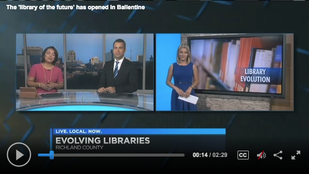 The 'library of the future' has opened in Ballentine